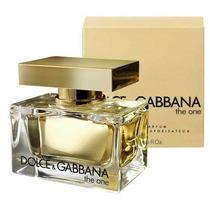 Perfume Feminino The One 75ml Dolce Gabbana 100% Original