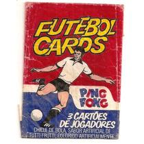 Envelope Futebol Cards Ping Pong Vermelho Original