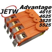 Cartucho Recarregável Hp 4615 4625 3525 Advantage + Chip