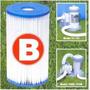 Refil Filtro Cartucho B Intex Bomba Filtrante L/h(prd Novo)