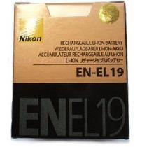 Bateria Nikon En-el19 Original S2500 S2550 S3100 S4100