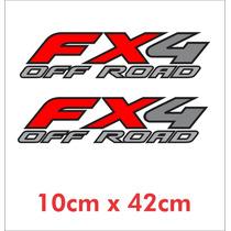 Par Adesivos Fx4 Off Road Para Jeep - Decalx