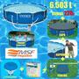 Piscina Intex 6503 L Bomba Filtro Capa Kit De Limpeza 220v