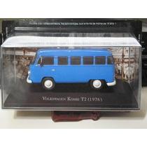 Miniatura Volkswagen Kombi Type 2 T2 (1976) Carros Inesquec