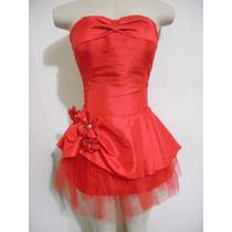 Lindo Vestido De Festa Ou Balada Curto Vermelho Excelente