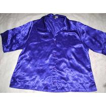 Camisa Feminina Seda Cetim Cleuzete Campos 52