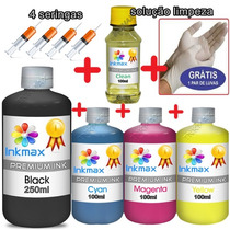 Kit Tinta Recarga Cartucho Canon Pg210 Cl211 Mp240 Mp250