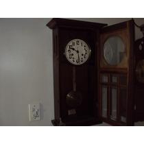 Relógio De Parede Antigo Ansonia