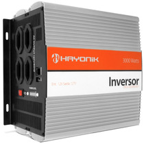 Inversor Transformador 3000w 12/127v Carro Notebook Barco