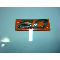 Emblema 2.0 Ecosport - Linha Ford (cromado) - (a81)