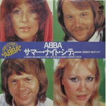 Abba Compacto 7 Summer Night City Importado Japones