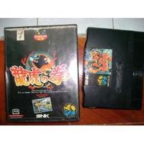 Art Of Fighting Japones Na Caixa Para Neo Geo Caseiro