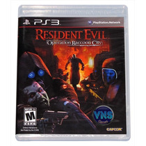 Resident Evil Operation Raccoon City - Americano - Lacrado