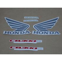 Kit Adesivos Honda Cb300r 2012 Azul - Decalx