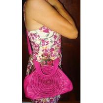 Bolsa Rosa Nova S/uso Com Várias Repartições Linda (c3)
