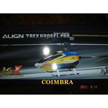 Kit Completo - T-rex 600e Pró 3gx Efl - Super Combo.