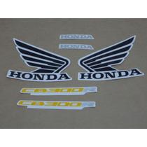 Kit Adesivos Honda Cb300r 2012 Vermelha - Decalx