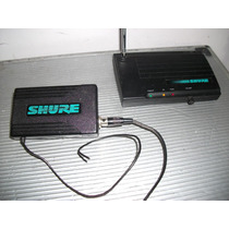 Shure Broders T3 Receiver E T3 Transmitter Microfone Sem Fio