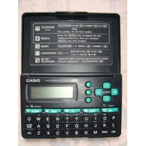 Agenda Eletronica Casio Modelo Data Bank Dc-2000 130
