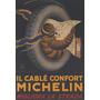 Michelin Pneu Confortável Boneco Mapa Poster Repro