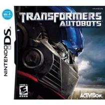 Jogo Lacrado Wi-fi Transformers Autobots Para Nintendo Ds