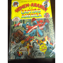 Gibi Homem Aranha 7 Em Cores Ebal Marvel Capitão América