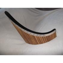 Flauta Pan - Panflute Profissional Tenor - Shekinah