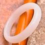 My Stuff!! Anel Esculpido Em Jade Branca Natural 4mm Aro 24