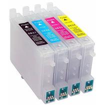 Cartuchos Recarregáveis C79 C92 C67 Cx5600 Cx5900 C87 +tinta