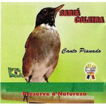 Cd O Canto Do Sabiá Coleira. Cd Original. Frete Grátis
