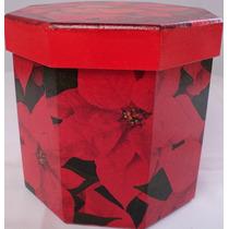 Porta Trecos Caixa Decoupage Panetone Mdf - Cx016