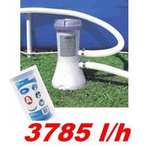 Bomba Filtrante Piscina Intex 3785 L/h 110v Filtro #28637