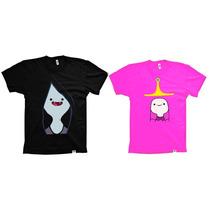 Camisetas Infantis Hora De Aventura Jujuba E Marceline