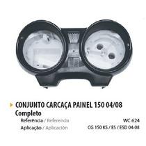 Conjunto Carcaça Painel Wester P Moto Cg 150 2004 A 08