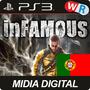 Infamous 1 Ps3 Play3 Psn Dublado Portugues Portugal