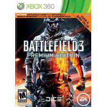 Battlefield 3 Premium Edition. Extras. Novo. Para Xbox 36