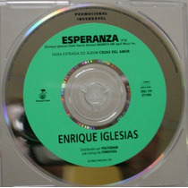Cd Single Enrique Iglesias - Esperanza - Frete Gratis