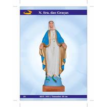 Imagens De Santos Católicos - N. S. Das Graças De Borracha