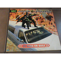 Lp Mc Junior Mc Leonardo De Baile Em Baile 1995 Com Encarte