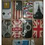 Capa Para O Galaxy S Duos S7562 Uk Usa Fita Eiffel Bieber