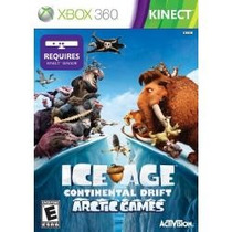 Jogo Ice Age Continental Drift Artic Kinect Era Gelo Xbox360