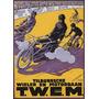 Corrida Bicicleta Ciclista Homens Poster Repro