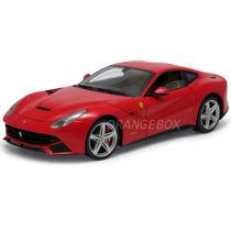 Ferrari F12 Berlinetta Hot Wheels Elite 1:18 Vermelho X5474