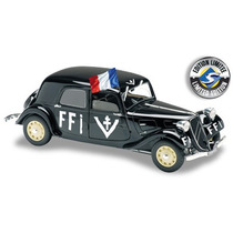 Citroen Traction 11b Ffi Anno 1944 Militar 1:18 Solido
