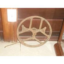 Antiga Roda De Maquina
