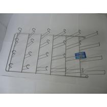 Porta Copos De Parede Com 24 Lugares - Tinta Cromo