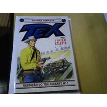 Revista Globo Tex Reedição Do Tex Gigante Nº1 2010