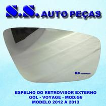 Espelho Do Retrovisor Gol Voyage G6 2012 2013 Original