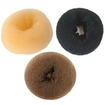 Donut Hair Esponja Rosquinha Coque Perfeito 3 Tamanhos E Cor