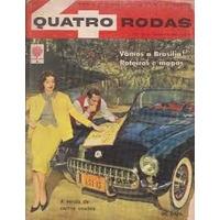 Revista Quatro Rodas Ano 1960 Numeros 2 - 3 - 4